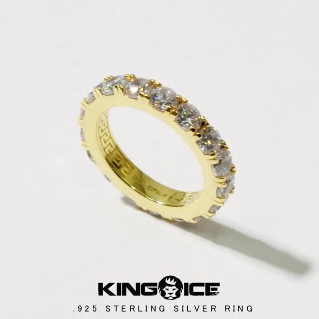 KING ICE キングアイス 14K GOLD ゴールド 金 リング 指輪 ブリンブリン hiphop ヒップホップ ジュエリー RGX12123 kiat098