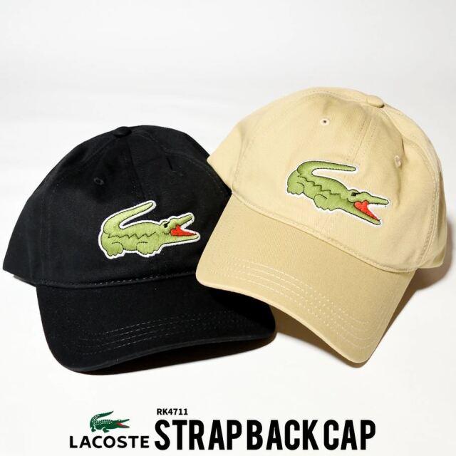 ラコステ LACOSTE キャップ 帽子 メンズ レディース ブランド USAモデル ワニ ビッグロゴ刺繍 RK4711 21SS 春 新作