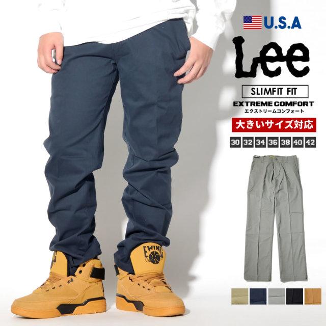 Lee 427 スリム チノパンツ EXTREME COMFORT カジュアル ファッション 服 通販