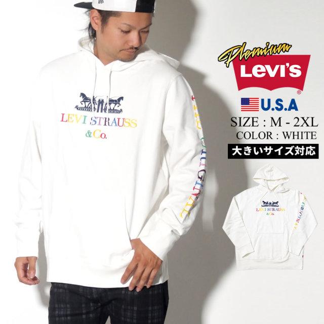 LEVI'S PREMIUM リーバイス プレミアム パーカー メンズ 大きいサイズ ロゴ 文字 GRAPHIC PO HOODIE 服 通販