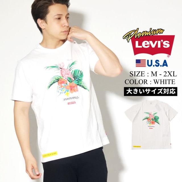 LEVIS PREMIUM リーバイス プレミアム 半袖 Tシャツ メンズ ロゴ ストリート系 カジュアル GRAPHIC CREWNECK TEE 22491