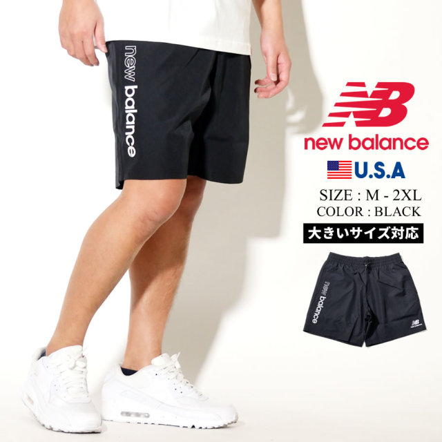 NEW BALANCE (ニューバランス) ハーフパンツ NB ATHLETICS WIND SHORT (MS01511)
