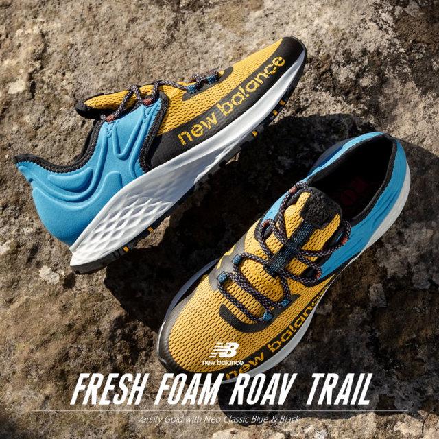 New Balance ニューバランス スニーカー メンズ 靴 FRESH FOAM ROAV TRAIL MTROVRG MTROVRG