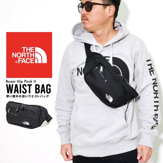 THE NORTH FACE ザノースフェイス ヒップバック ウエストポーチ メンズ レディース ロゴ Bozer Hip Pack II NF0A2UCX
