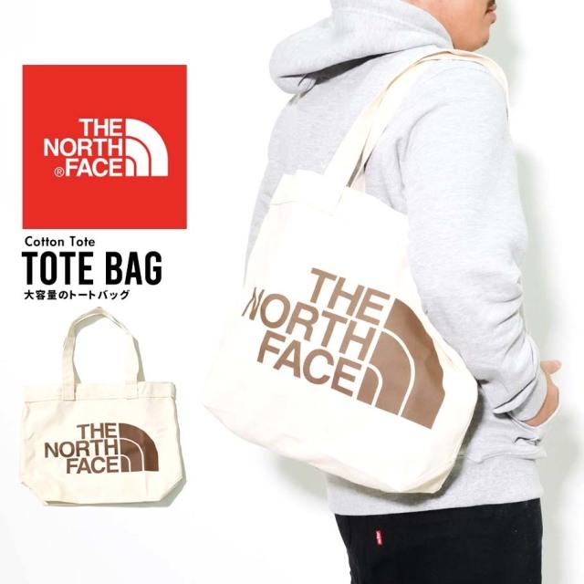 THE NORTH FACE ザノースフェイス トートバック メンズ レディース ロゴ Cotton Tote NF0A3VWQ