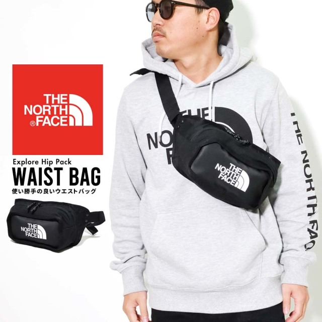THE NORTH FACE ザノースフェイス ヒップバック ウエストポーチ メンズ レディース ロゴ Explore Hip Pack NF0A3KZX