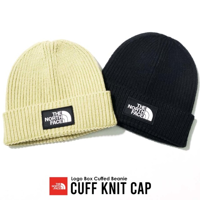 THE NORTH FACE ザノースフェイス ニットキャップ メンズ レディース ロゴ TNF Logo Box Cuffed Beanie NF0A3FJX