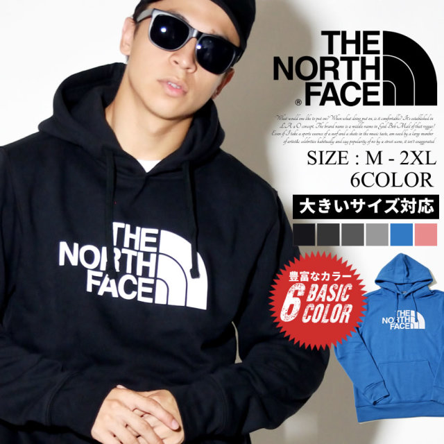 THE NORTH FACE ザノースフェイス プルオーバーパーカー メンズ ロゴ Mens Half Dome Pullover Hoodie NF0A4M4B