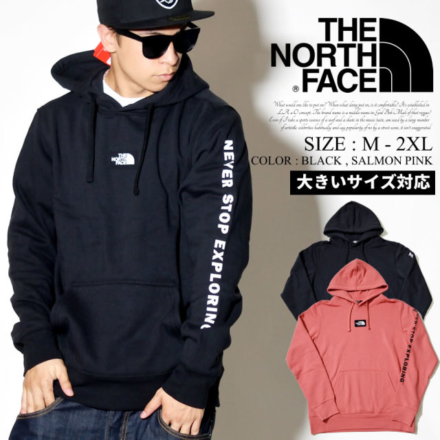 THE NORTH FACE ザノースフェイス プルオーバーパーカー メンズ Mens Box Drop Pullover Hoodie NF0A4AAD