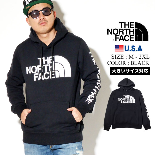 THE NORTH FACE ザノースフェイス プルオーバーパーカー メンズ ロゴ Mens Half Dome TNF Pullover Hoodie NF0A4N77