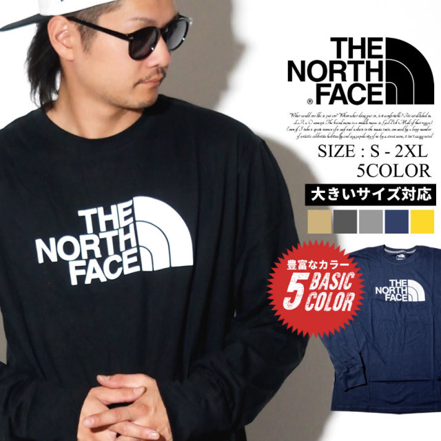 THE NORTH FACE ザノースフェイス ロンT 長袖Tシャツ メンズ Mens L/S Half Dome Tee NF0A4AAK