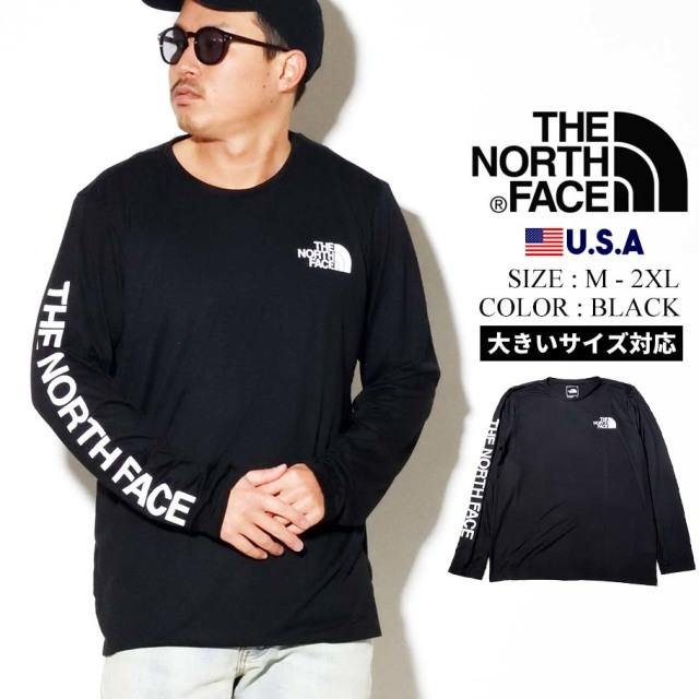 THE NORTH FACE ザノースフェイス ロンT 長袖Tシャツ メンズ ロゴ Mens L/S Reaxion Graphic Tee NF0A4AAV