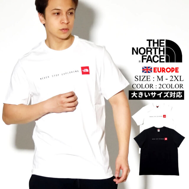 THE NORTH FACE ザ ノース フェイス Tシャツ メンズ 半袖 ロゴ NEVER STOP EXPLORING TEE NF0A2TX4