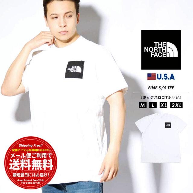 ザ・ノースフェイス THE NORTH FACE Tシャツ メンズ 半袖 ロゴプリント ブランド おしゃれ USAモデル FINE S/S TEE NF0A55UX