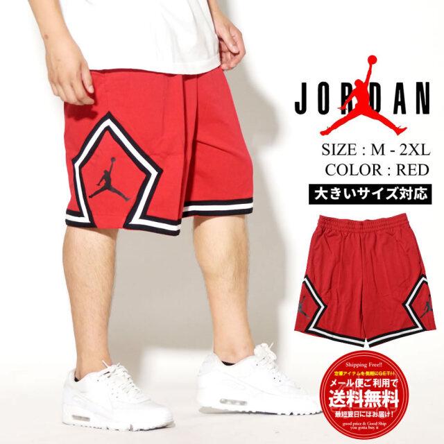 JORDAN ジョーダン ハーフパンツ メンズ 大きいサイズ ロゴ M J JUMPMAN FLC DIAMOND SHORT CV7317