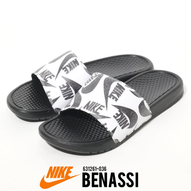 NIKE ナイキ サンダル ベナッシ メンズ スポーツ ストリート系 ファッション NIKE BENASSI JUST DO IT 631261 036
