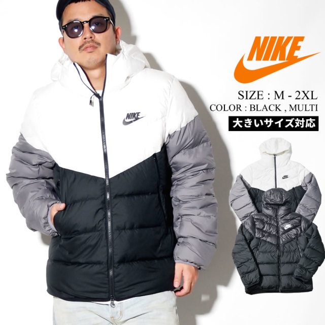 NIKE ナイキ フード付き 中綿 ダウンジャケット メンズ 大きいサイズ ストリート系 スポーツ ファッション 928833 服 通販