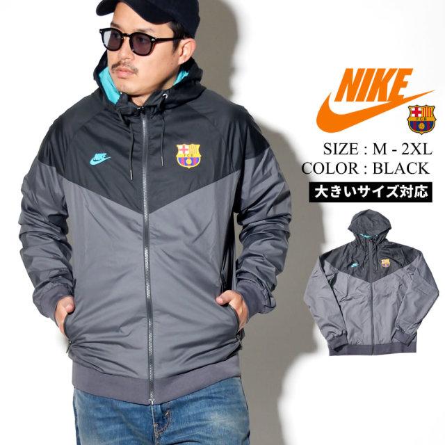 NIKE ナイキ ウィンドブレーカー メンズ 大きいサイズ バルセロナ ロゴ サッカー ストリート系 スポーツ ファッション CI1315 服 通販