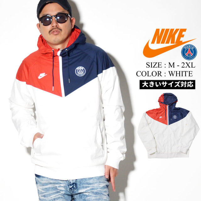 NIKE ナイキ ウィンドブレーカー メンズ 大きいサイズ サンジェルマン ロゴ サッカー ストリート系 スポーツ ファッション CI1319 服 通販