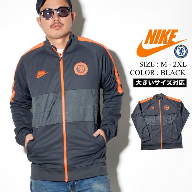 NIKE ナイキ トラックジャケット メンズ 大きいサイズ チェルシー ロゴ サッカー ストリート系 スポーツ ファッション BV2605 服 通販