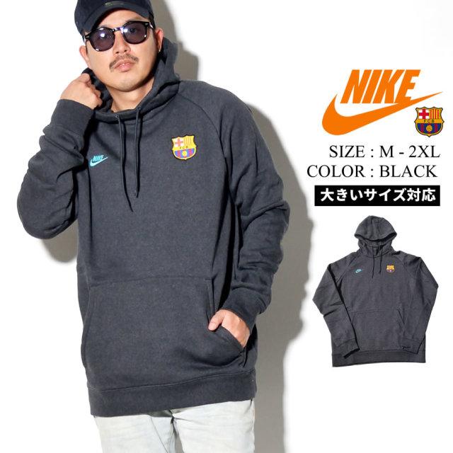 NIKE ナイキ パーカー メンズ 大きいサイズ バルセロナ ロゴ サッカー ストリート系 スポーツ ファッション CI2090 服 通販