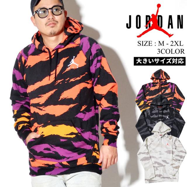 JORDAN (ジョーダン) プルオーバーパーカー M J JUMPMAN FLC CAMO PO (CJ7772)