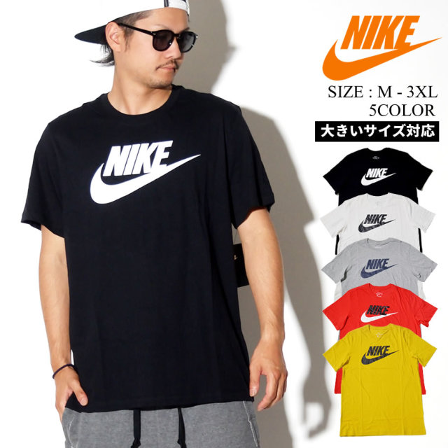 NIKE ナイキ 半袖 Tシャツ メンズ 大きいサイズ ロゴ スポーツ ストリート系 ヒップホップ ファッション AR5004 服 通販
