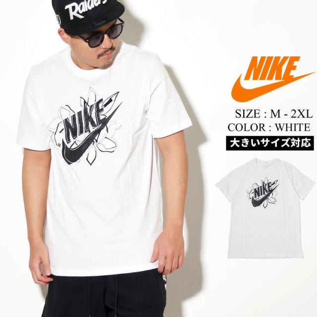 NIKE ナイキ 半袖 Tシャツ メンズ ロゴ M Nsw Ss Tee Rs 3 CI6120 ホワイト 白