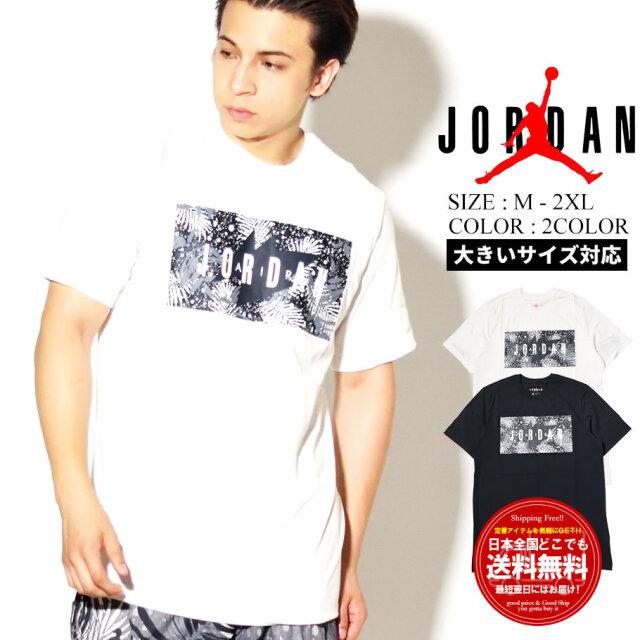 JORDAN ジョーダン 半袖Tシャツ ボックスロゴ M J POOLSIDE FLORAL CREW CQ2060