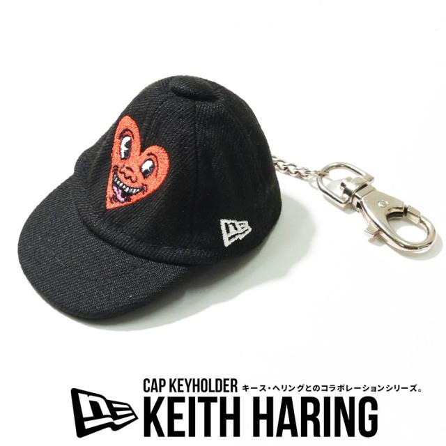 NEW ERA ニューエラ キャップキーホルダー Keith Haring キース・へリング ハート 12551279