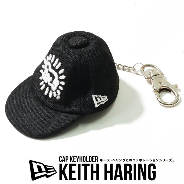 NEW ERA ニューエラ キャップキーホルダー Keith Haring キース・へリング ベイビー 12551281