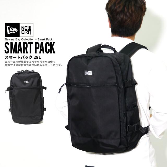 NEW ERA ニューエラ バックパック スマートパック 28L ブラック 鞄 11556610