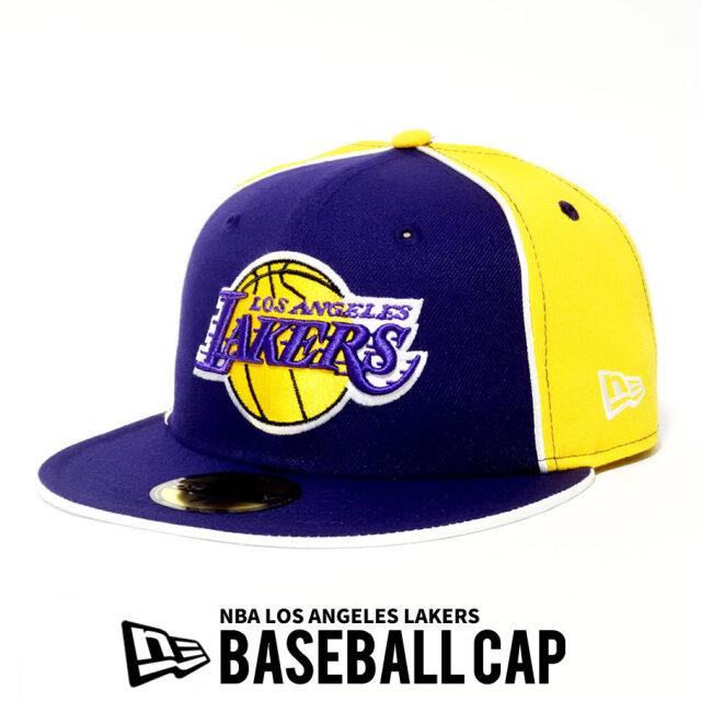 NEW ERA ニューエラ ベースボールキャップ 59FIFTY NBA バスケットボール Los Angeles Lakers 12540897