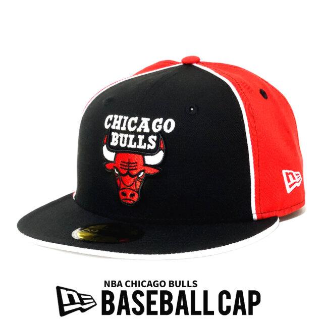 NEW ERA ニューエラ ベースボールキャップ 59FIFTY NBA バスケットボール Chicago Bulls 12540911