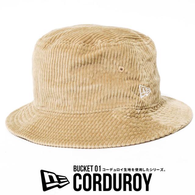 NEW ERA ニューエラ バケットハット コーデュロイ 帽子 12540519