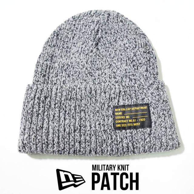 NEW ERA ニューエラ ニットキャップ ニット帽 ミリタリー 帽子 12540422