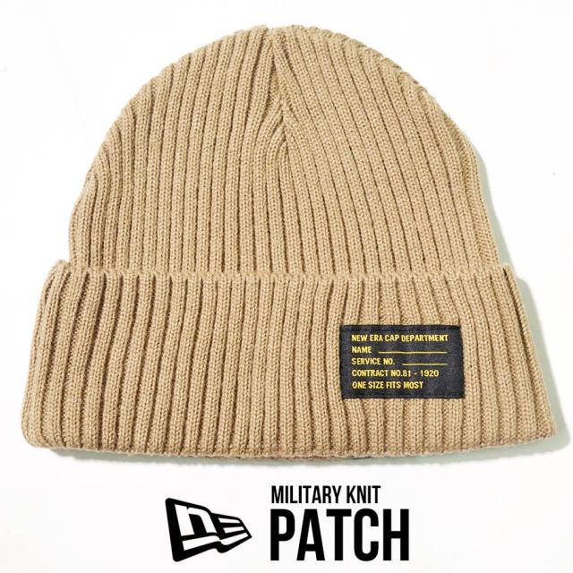 NEW ERA ニューエラ ニットキャップ ニット帽 ミリタリー 帽子 12540425