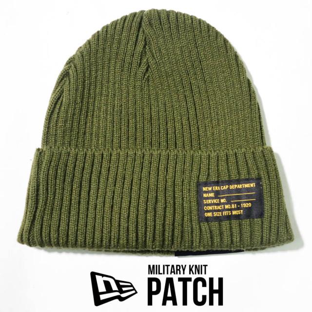 NEW ERA ニューエラ ニットキャップ ニット帽 ミリタリー 帽子 12540426
