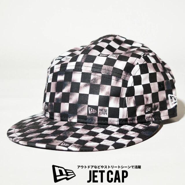 ニューエラ NEW ERA ジェットキャップ 帽子 メンズ レディース タイダイチェック ブラック 2021 春夏 新作