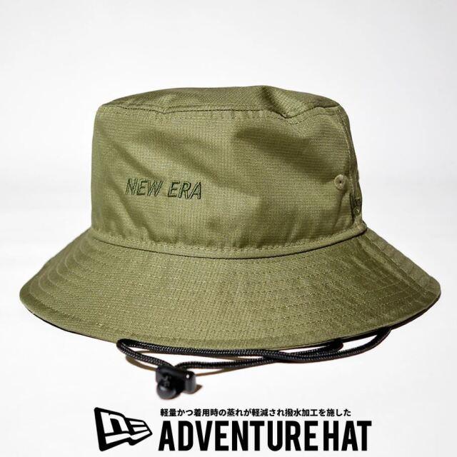 ニューエラ NEW ERA サファリハット 帽子 メンズ 撥水 軽量 エクスプローラーシリーズ アドベンチャーライト オリーブ 2021 春夏 新作