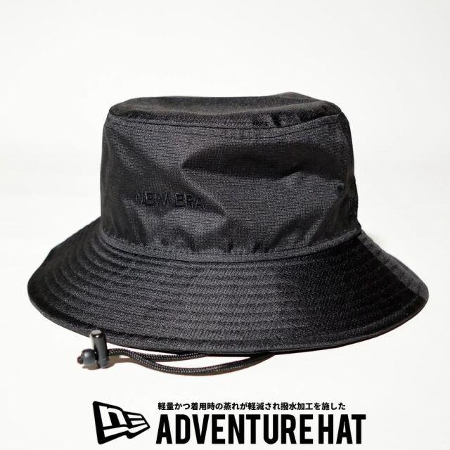 ニューエラ NEW ERA サファリハット 帽子 メンズ 撥水 軽量 エクスプローラーシリーズ アドベンチャーライト ブラック 2021 春夏 新作