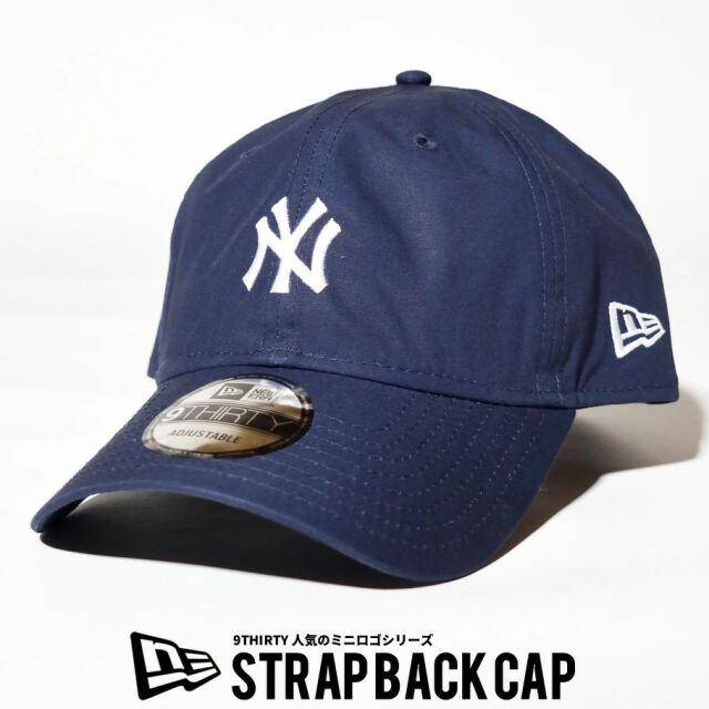 ニューエラ NEW ERA キャップ 帽子 メンズ レディース 9THIRTY ロサンゼルス・ドジャース タイプライター ミニロゴ ネイビー 2021 春夏 新作