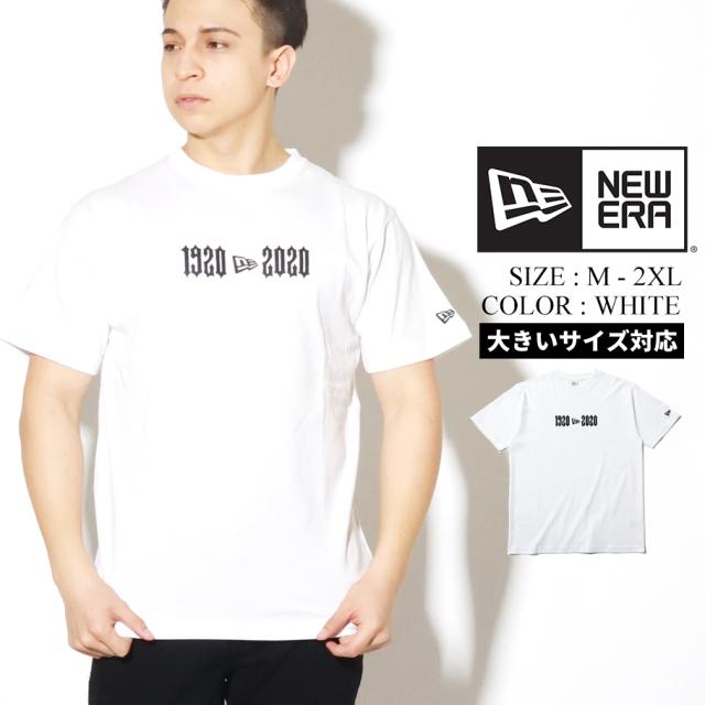 NEW ERA ニューエラ Tシャツ メンズ 半袖 ホワイト 1920 2020 12325191