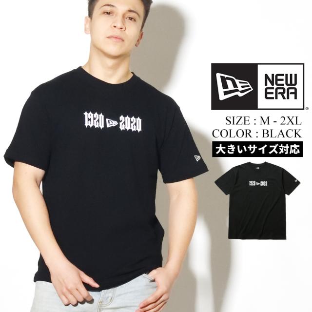 NEW ERA ニューエラ Tシャツ メンズ 半袖 ブラック 1920 2020 12325192