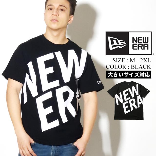 NEW ERA ニューエラ Tシャツ メンズ 半袖 ブラック ZOOM UP LOGO 12325129