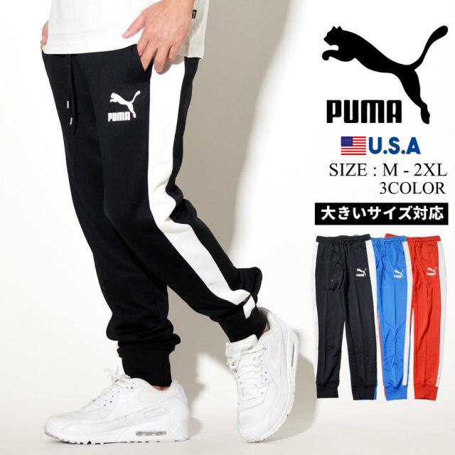 PUMA プーマ トラックパンツ メンズ ロゴ ICONIC T7 TRACK PANT PT 595287