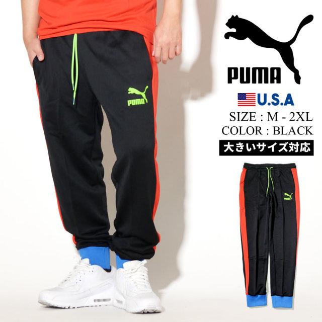 PUMA プーマ トラックパンツ メンズ ロゴ ICONIC T7 TRACK PANT PT 42 PUMA BLACK 595287