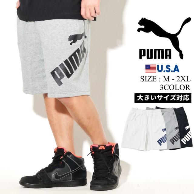 PUMA プーマ ハーフパンツ メンズ ロゴ BIG LOGO SHORTS 10 581551