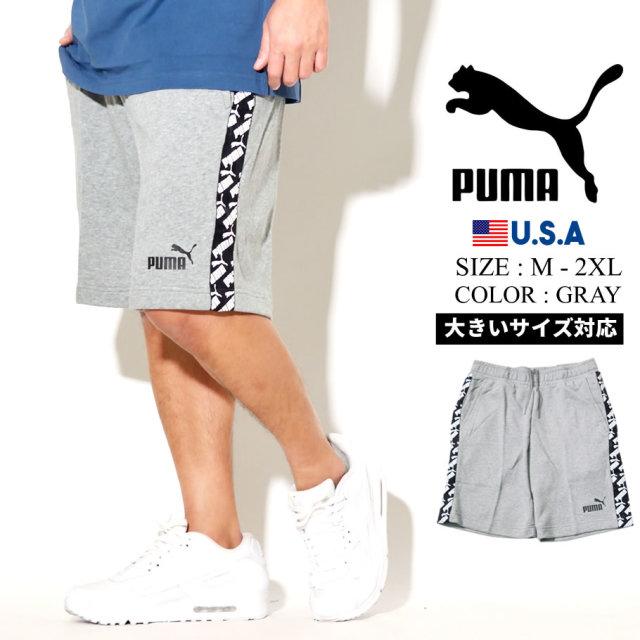 PUMA プーマ ハーフパンツ メンズ ロゴ AMPLIFIED SHORTS TR 03 MGH 581416