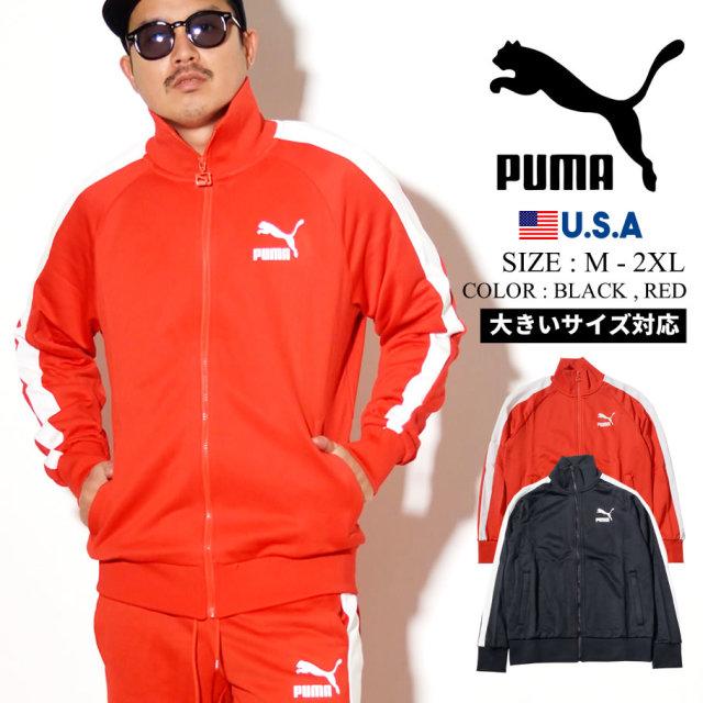 PUMA プーマ トラックジャケット メンズ ロゴ ICONIC T7 TRACK JKT PT 595286